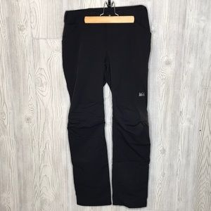 REI Black Screeline Stretch Nylon Hiking Pants